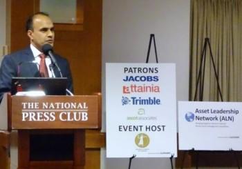 Shahid Shah Accepts Asset Leadership Impact Award